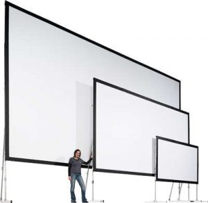 MONOBLOX 32 Portable Rear Projection Screen