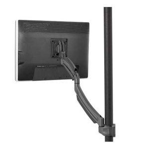 Kontour™ K1 Series Single Display Pole Mnt - Black