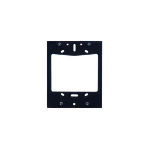 Surface Mount Backplate for Single Height Door Station - Black